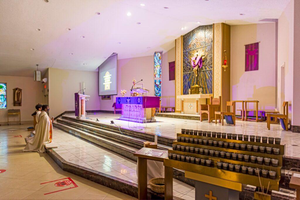 Adoration altar